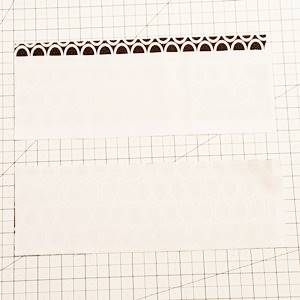 churn dash quilt block pattern Step 2