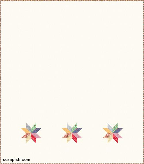 Modern Eight Point Star Quilt Pattern