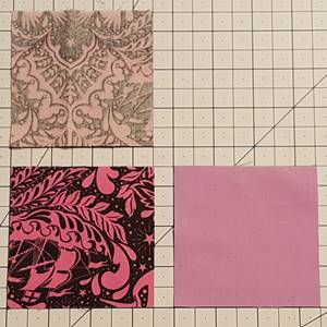 Four Patch Quilt Block Pattern Tutorial - Simple and Scrappy