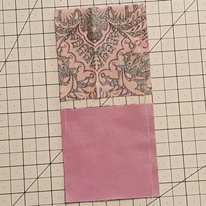 Four Patch Quilt Block Step 2c