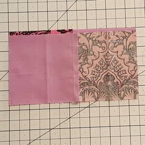 Four Patch Quilt Block Step 3c