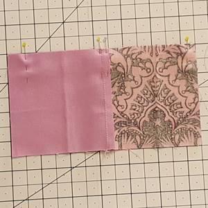 Four Patch Quilt Block Step 3d