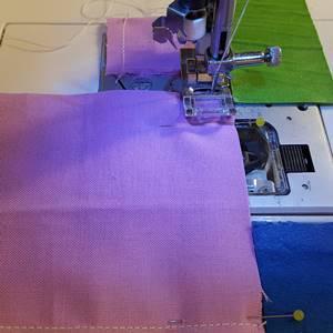 Four Patch Quilt Block Step 3e