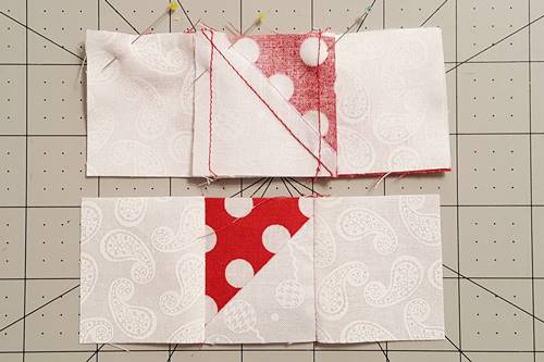 Step 8a Friendship Star Quilt Block