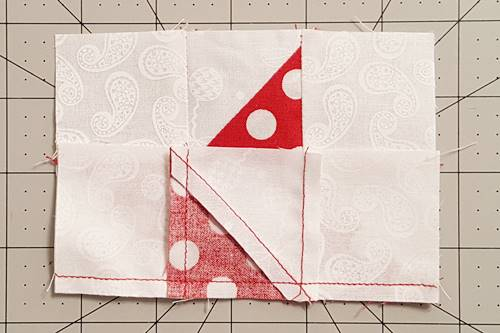 Step 8d Friendship Star Quilt Block