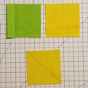 Half square triangles Step 1