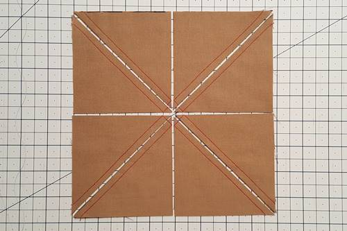See your half square triangles 8 at a time.