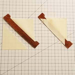 maple leaf quilt block step 3b