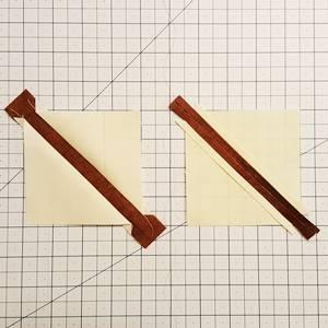 maple leaf quilt block step 3c