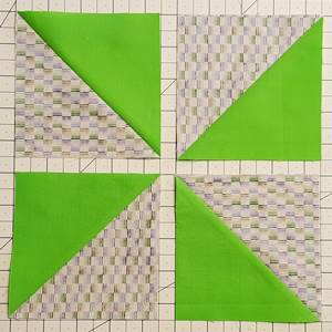 pinwheel quilt block grid