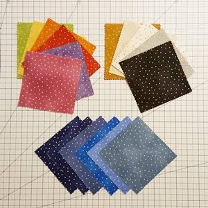 pinwheel quilt pattern Step 2a