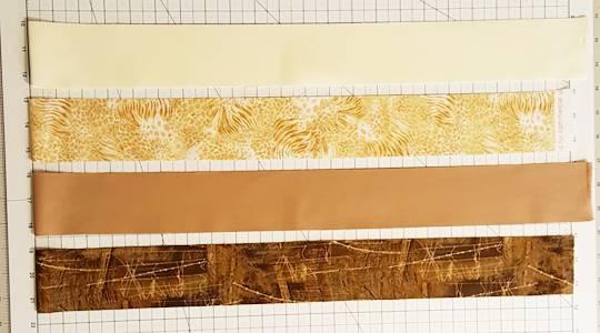 Rail Fence Quilt Block Pattern Tutorial