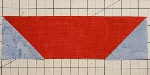 sailboat quilt block Step 2d