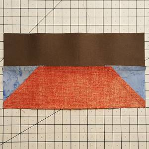 sailboat quilt block pattern Step 7