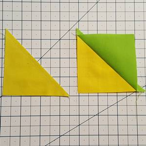 Half square triangles Step 5