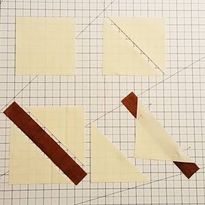 maple leaf quilt block step 3a