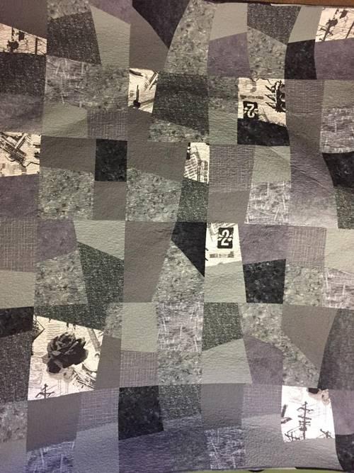 modern four patch quilt pattern