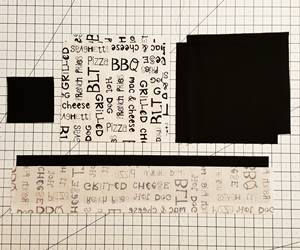 Monkey Wrench Quilt Block Pattern Step 1