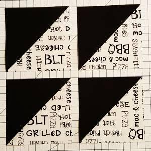 Monkey Wrench Quilt Block Pattern Step 2b