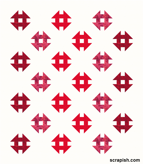 monkey wrench quilt pattern