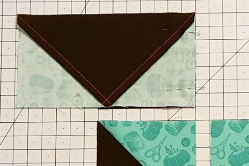 Step 3a star quilt block pattern